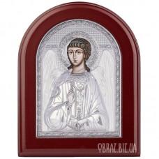 Ікона Ангела Хранителя в сріблі на подарунок
