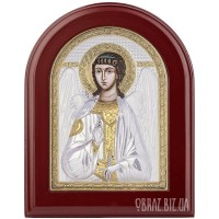 Ікона Ангела Хранителя з позолотою на подарунок