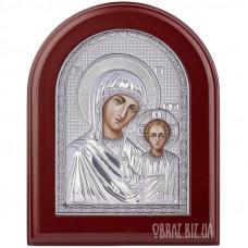 Ікона Божої Матері Казанська в сріблі au