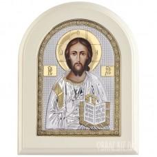Ікона Ісуса Христа Пантократора з позолотою