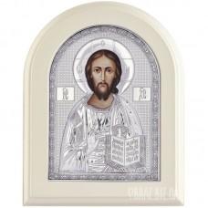 Ікона Ісуса Христа Вседержителя в сріблі
