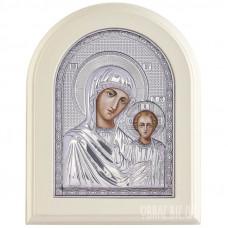 Ікона Пресвятої Богородиці Казанська в сріблі на подарунок
