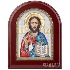 Ікона Спаса Вседержителя в сріблі та кольорі