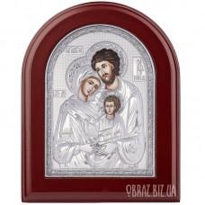 Ікона «Святе Сімейство» в сріблі на подарунок