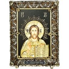 Ікона Ісуса Христа «Пантократор» з бронзи