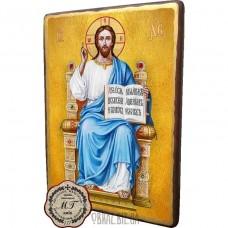 Ікона Ісус Христос на троні з книжкою