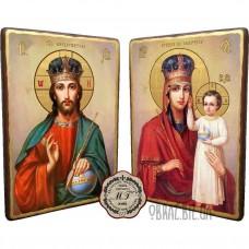 Вінчальна пара ікон «Зглянься на смирення»