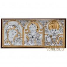 Ікона Спасителя, Богородиці, Миколи Чудотворця