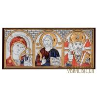 Ікона Спасителя, Божої Матері, Миколи Чудотворця