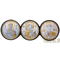Ікона Спиридона, Богородиці, Миколи Чудотворця
