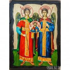 Ікона Архангелів Михаїла і Гавриїла