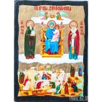 Ікона Пресвятої Богородиці Домобудівниця чи Економісса